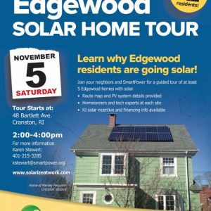 FOLLOW OUR VENDORS FROM PAWTUXET TO PAWTUCKET; CAST YOUR VOTES; SOLAR TOUR